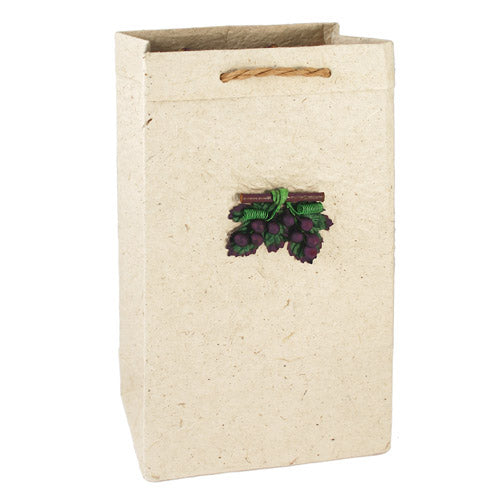 Sand 2-Bottle Wine Gift Bag - Set of 4