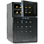 Silent Series 24 Bottle Dual Zone  Wine Refrigerator w/ Touchscreen