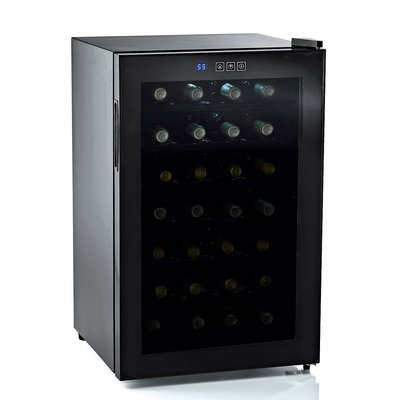 Silent Series 28 Bottle Wine Refrigerator w/ Touchscreen