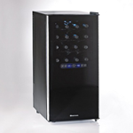 Silent Series 32 Bottle Dual Zone Wine Refrigerator w/Touchscreen