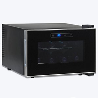 Silent Series 8 Bottle Wine Refrigerator w/ Touchscreen