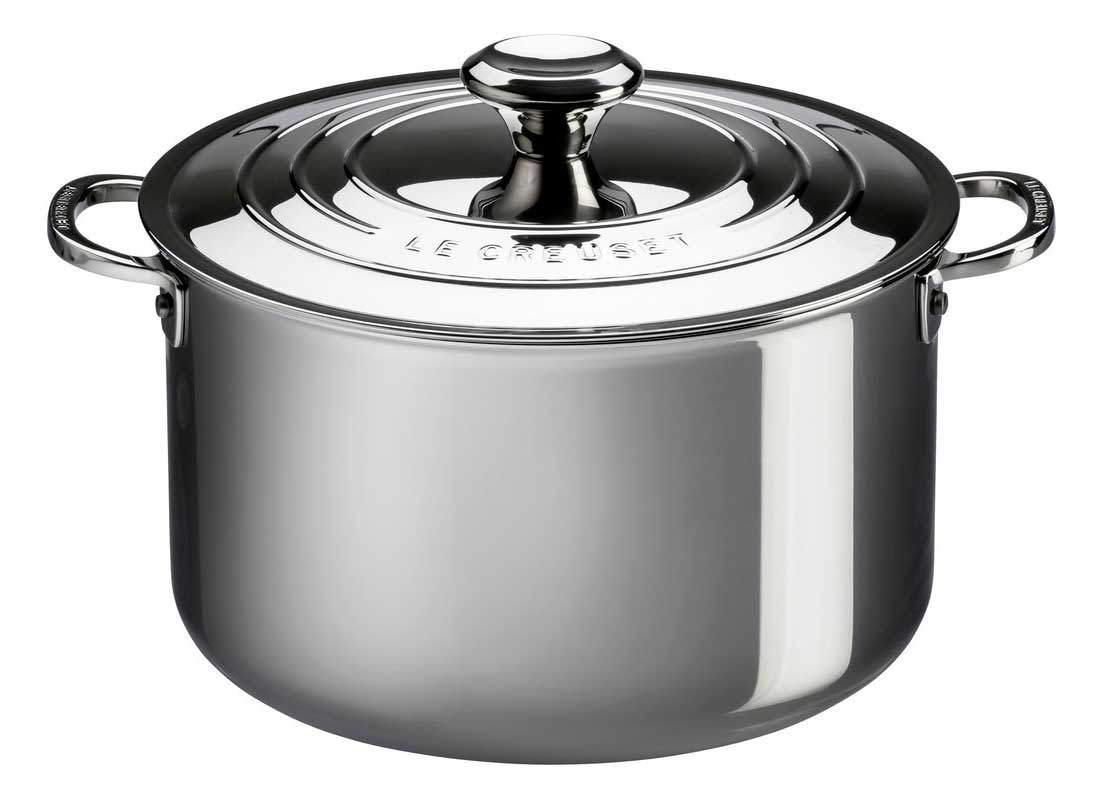 Le Creuset 7 Quart Stainless Steel Stockpot