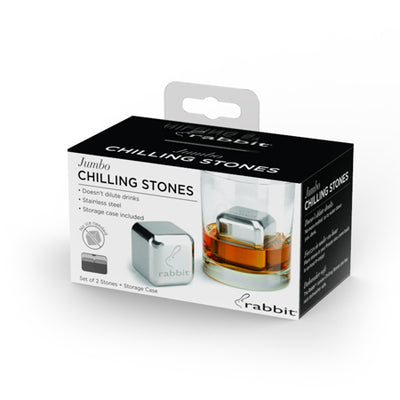 Metrokane Rabbit Jumbo Chilling Stones, Set of 2