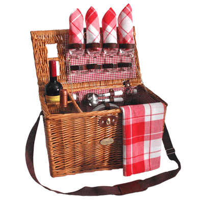 Sutherland Bistro Picnic Basket for 4
