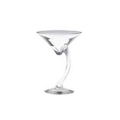 Libbey Swerve Martini Glassware 6.5oz (Set of 4)