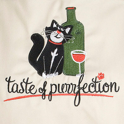 Taste of Purrfection Apron