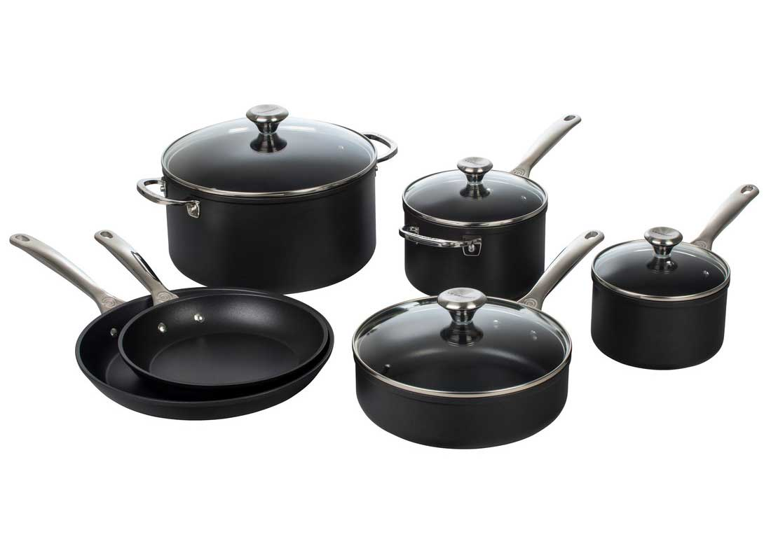 Le Creuset Toughened Nonstick Pro 10 Piece Cookware Set