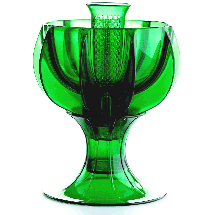 WineWeaver Wine Aerator- Classic Green