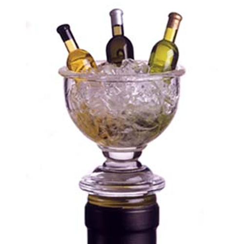 Acrylic Mini Wine Bowl Bottle Stopper