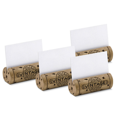Got Cork? Table Place Card Holder Set (Set of 4)