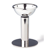Splay Silver Plated Wine Decanter Funnel With Stand