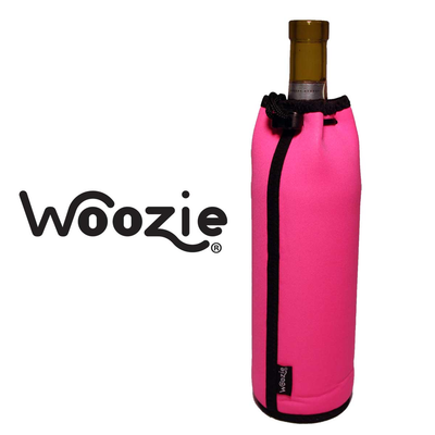 The Wine Bottle Woozie - Hot Pink