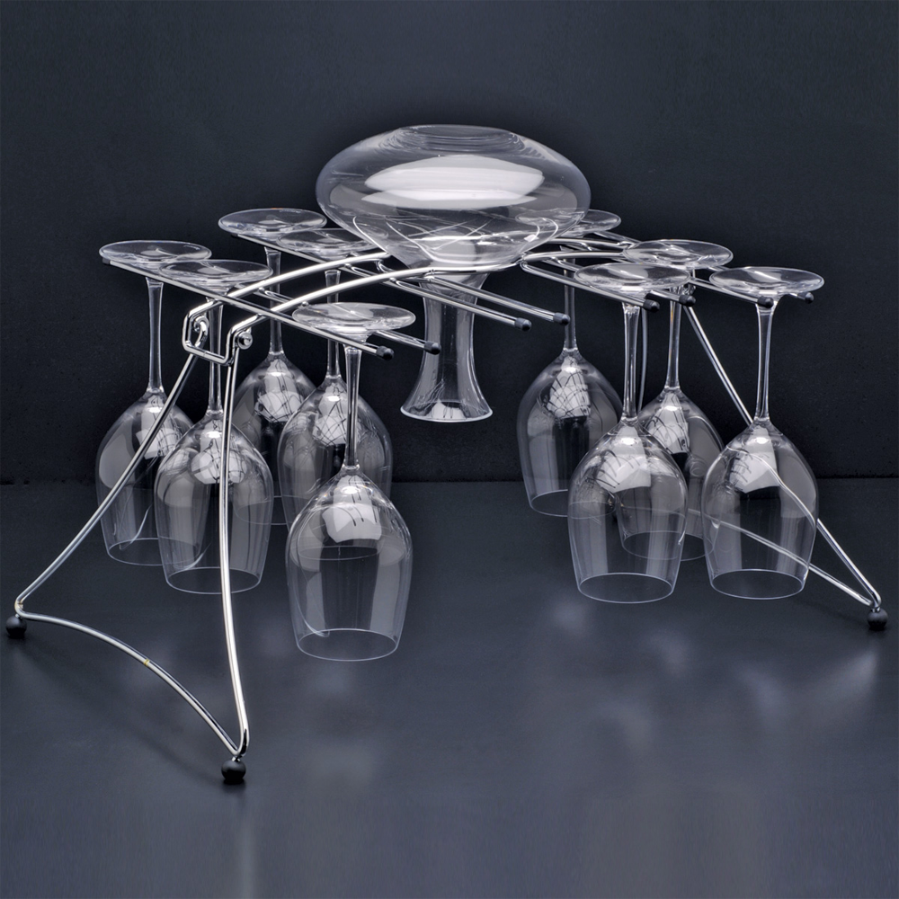 Fusion Stemware and Decanter Rack