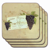 Chateau Bergerac Coasters (Set of 4)