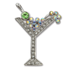 Manhattan Rhinestone Brooch