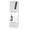 The New Yorker Wine Bottle - Set of 10