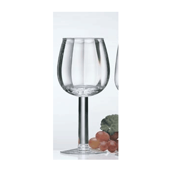 Contours Acrylic White Wine Glasses (Set of 4)