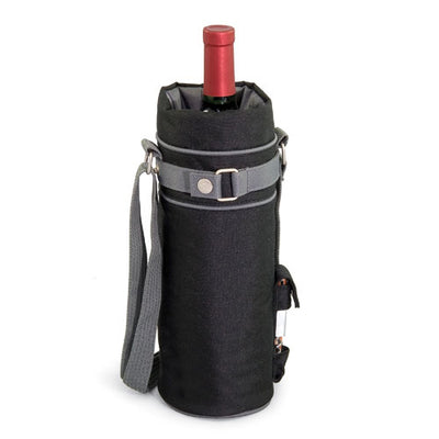 Picnic Time Wine Sack - Black