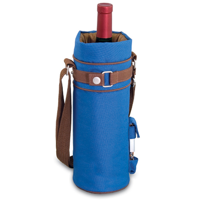 Picnic Time Wine Sack - Vista Blue