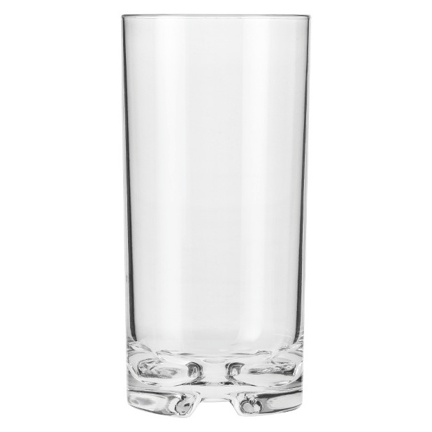 Forever Polycarbonate Tall Drink Glasses (Set of 4)