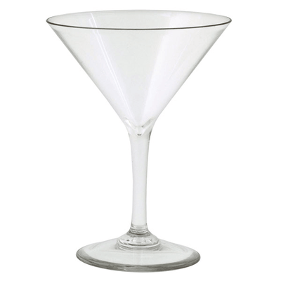 Forever Polycarbonate Martini Glasses (Set of 4)