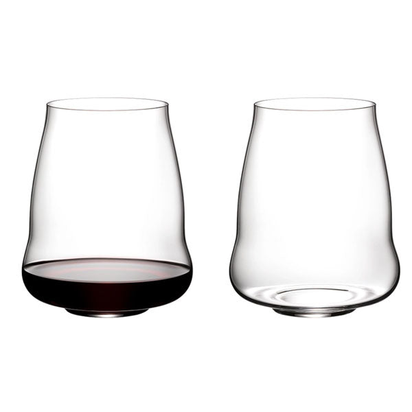 Riedel Winewings Pinot Noir / Nebbiolo Stemless Wine Glasses - Set of 2