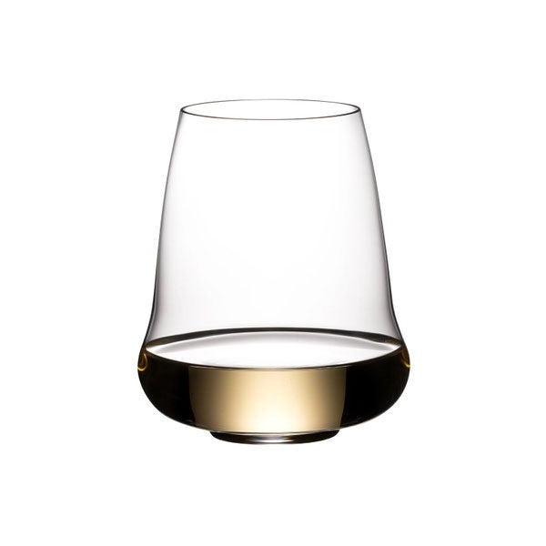 Riedel Winewings to Fly Riesling / Champagne Stemless Wine Glass - Single Pack