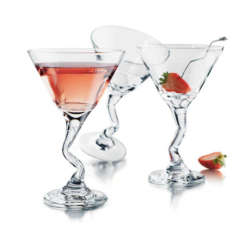 Libbey Z-Stem Martini 9oz Glassware (Set of 4)