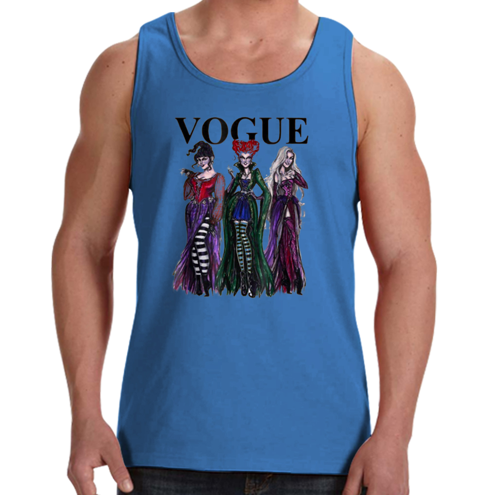 1071f4ebdebf89 Hocus Pocus Tshirt Vogue Witches Halloween Men s Tank Tops Tank Top - AMAZON  TEES