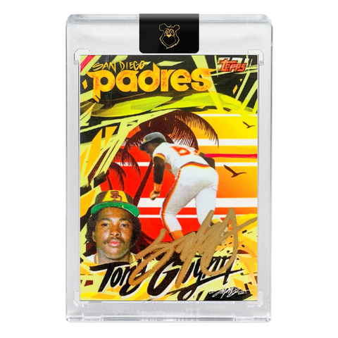 Edition of 99 - 1983 Tony Gwynn - GOLD AUTOGRAPH