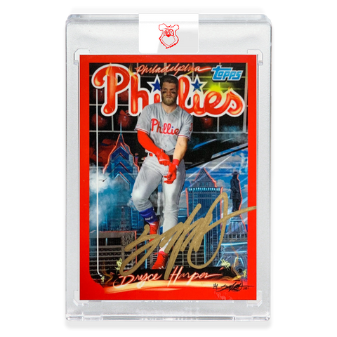 Edition of 27 - 1999 Bryce Harper - GOLD AUTOGRAPH
