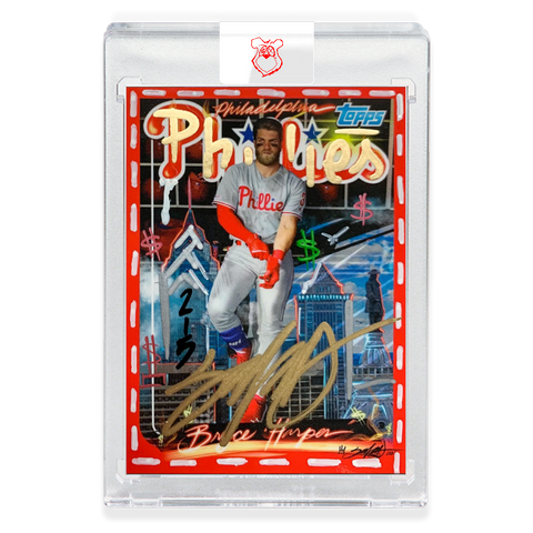 Edition of 15 - Hand Embellished - AP Edition - 1999 Bryce Harper