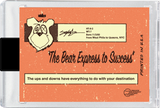 JP The Money Bear - Motivational Collector Card - No.2