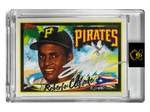 Topps Project 2020 - 1955 Roberto Clemente - SILVER AUTOGRAPH