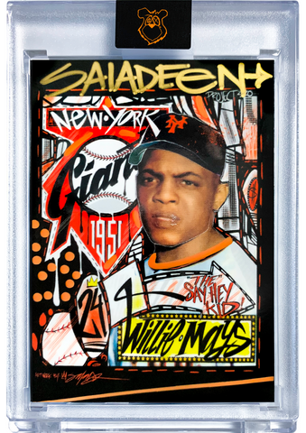 Hand Embellished - AP Edition - Topps Project 2020 - 1952 Willie Mays