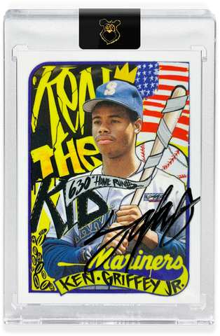 MAIL IN OPTION - 1989 Ken Griffey Jr. - BLACK AUTOGRAPH