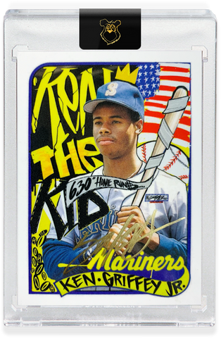 Edition of 24 - 1989 Ken Griffey Jr. - GOLD AUTOGRAPH