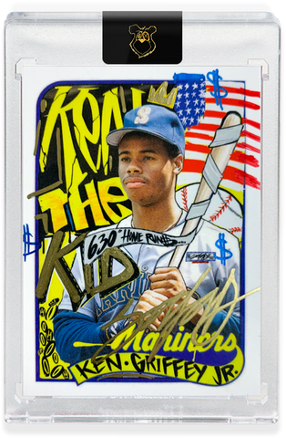 Edition of 15 - Hand Embellished - AP Edition - 1989 Ken Griffey Jr.