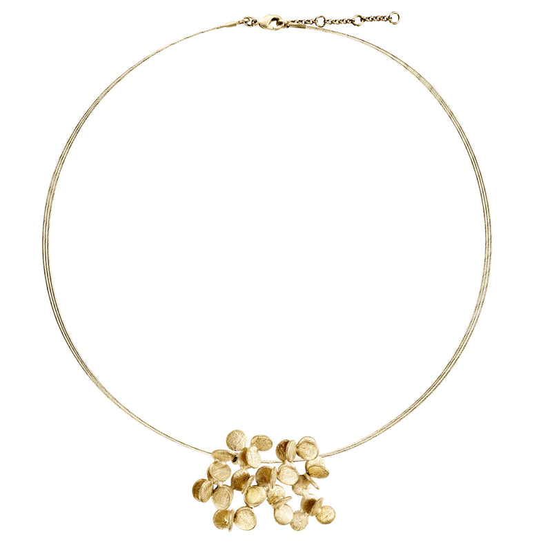 ARAI GOLD NECKLACE WIRE LARGE J3250CO073200 - Dyrberg/Kern NZ