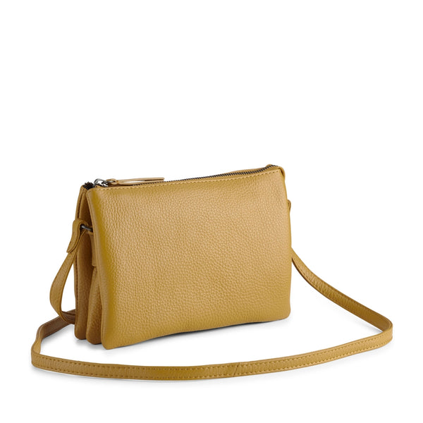 VERA CROSSBODY BAG, GRAIN - AMBER