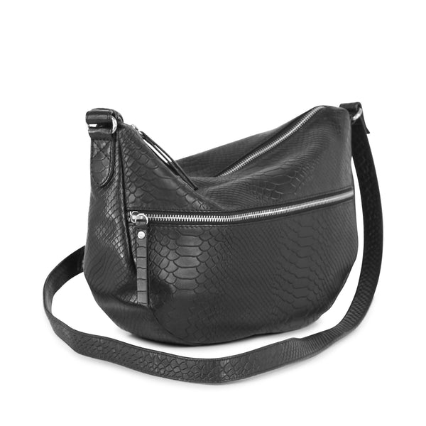 CLEOPATRA BAG, BLACK, SNAKE