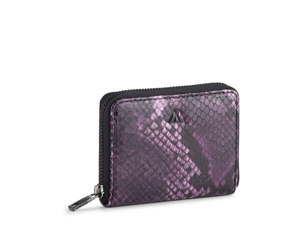 SELMA WALLET, SNAKE PURPLE