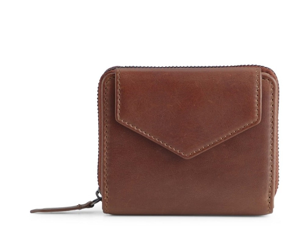 LAURA WALLET, CHESTNUT