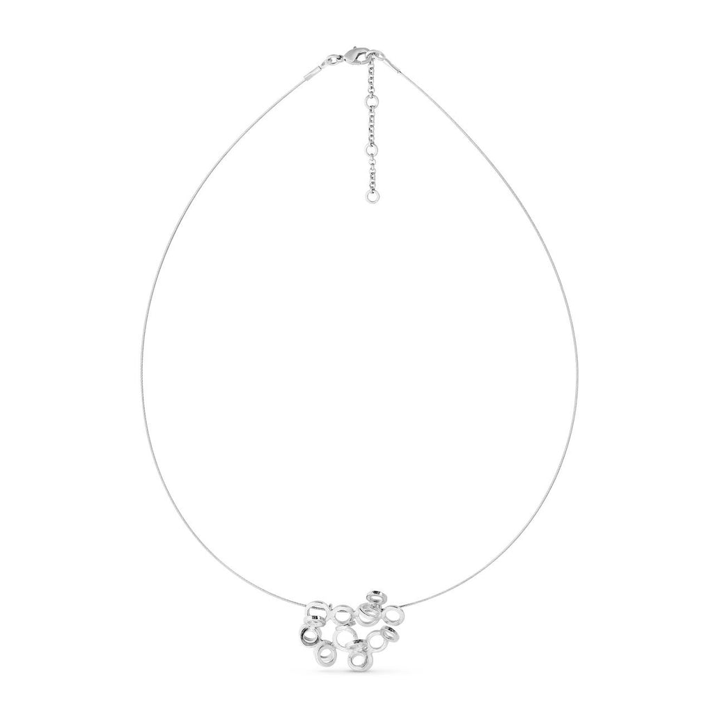 CARLA SILVER NECKLACE WIRE J3343CO069000