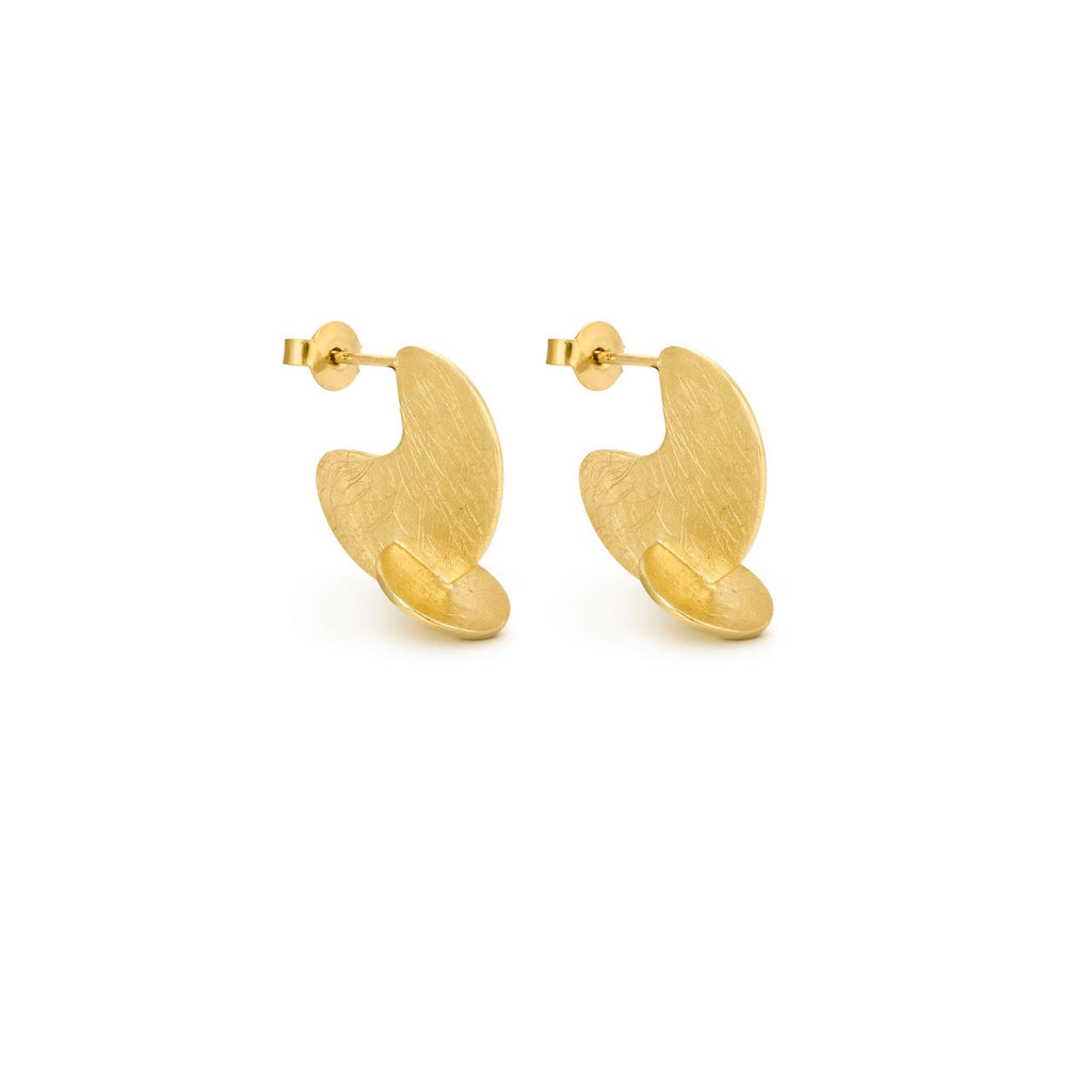 SOLEIL GOLD EARRINGS HOOP J3326AR033200