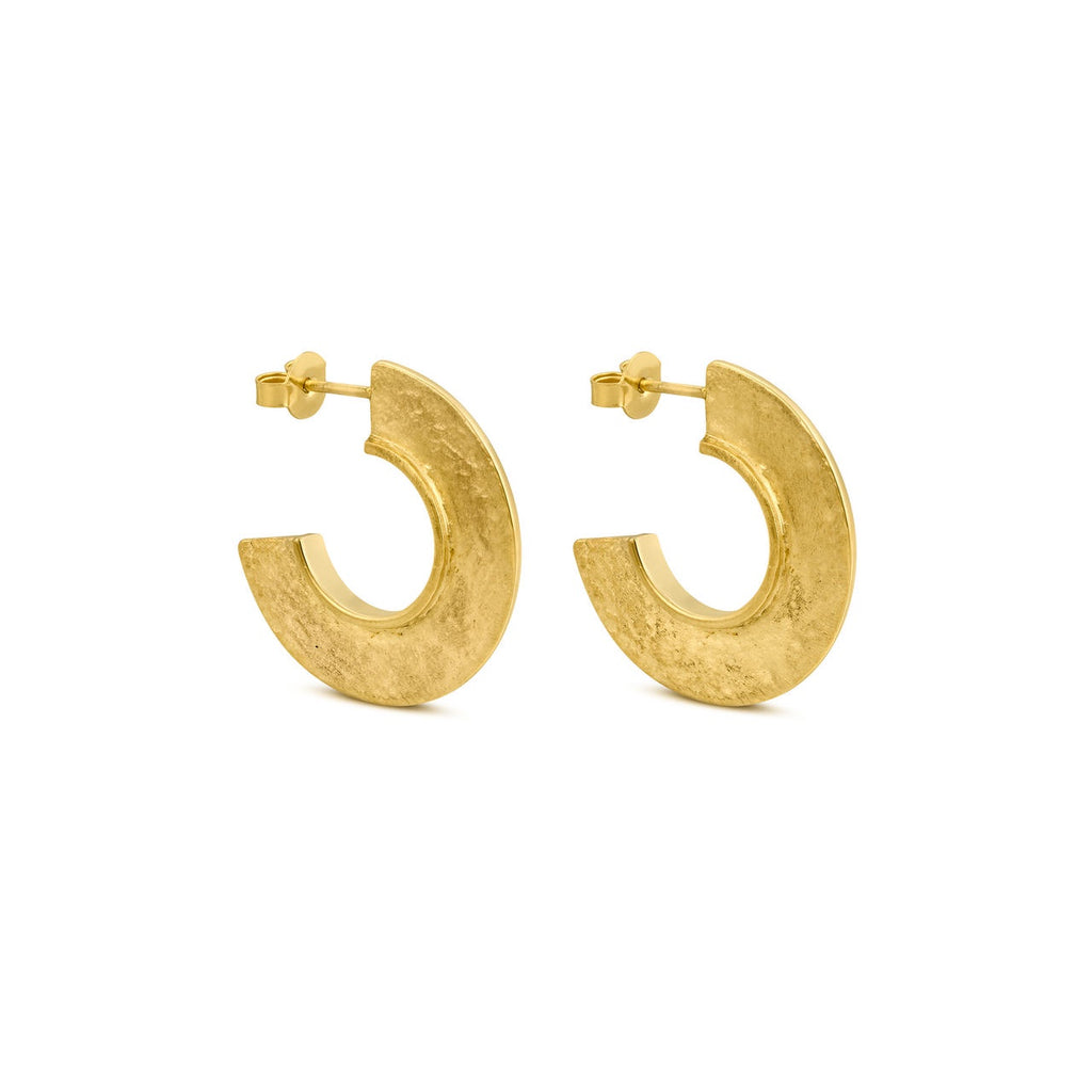MINOICA GOLD EARRINGS HOOPS J3341AR033200