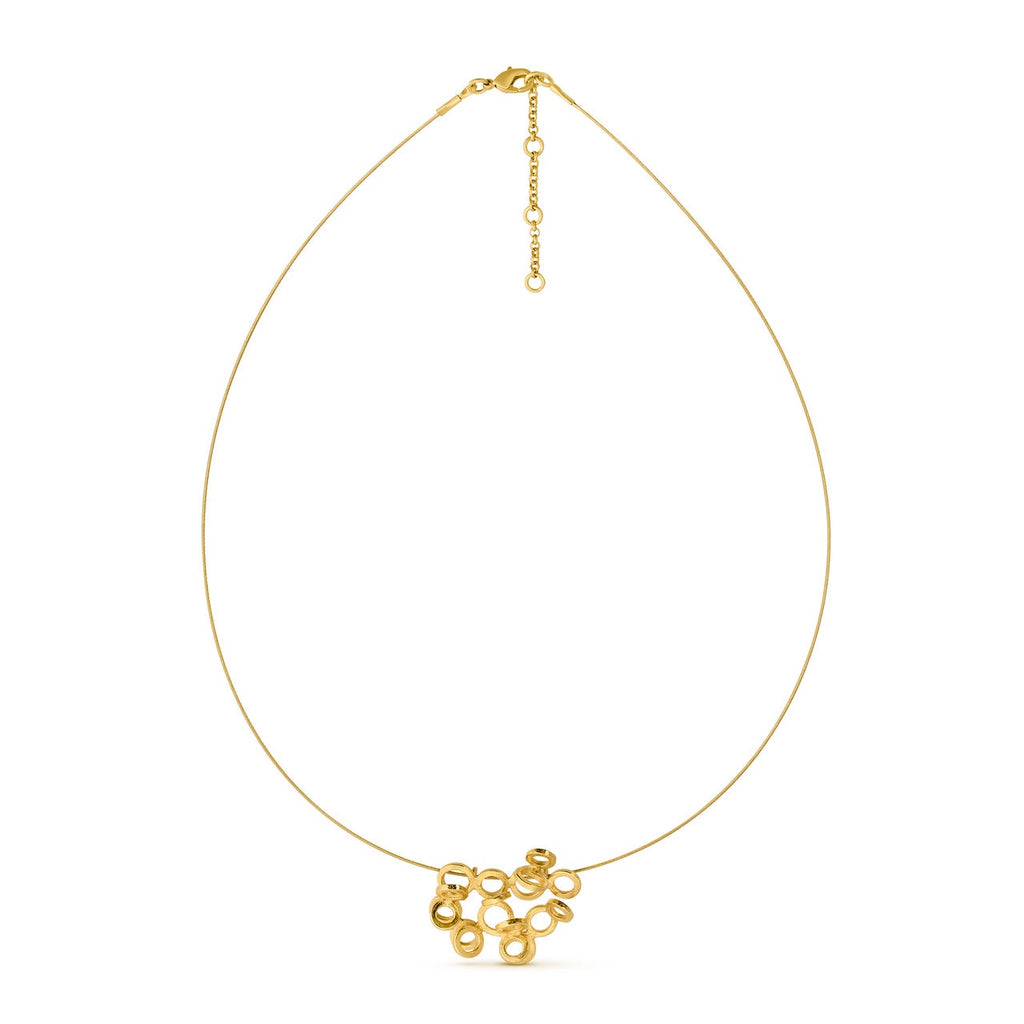 CARLA GOLD NECKLACE WIRE J3343CO063200
