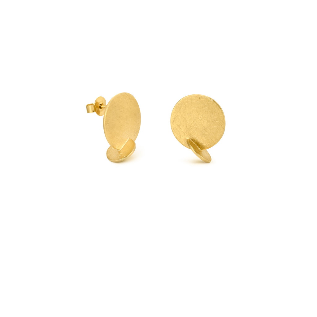 SOLEIL GOLD EARRINGS SMALL STUD J3326AR013200