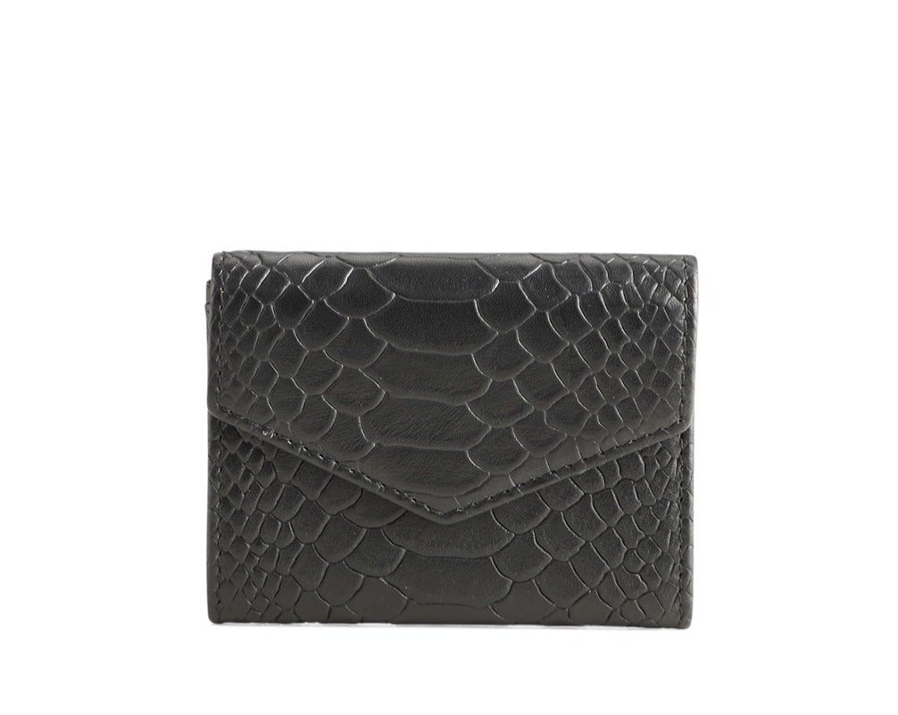 MEGAN WALLET, SNAKE BLACK
