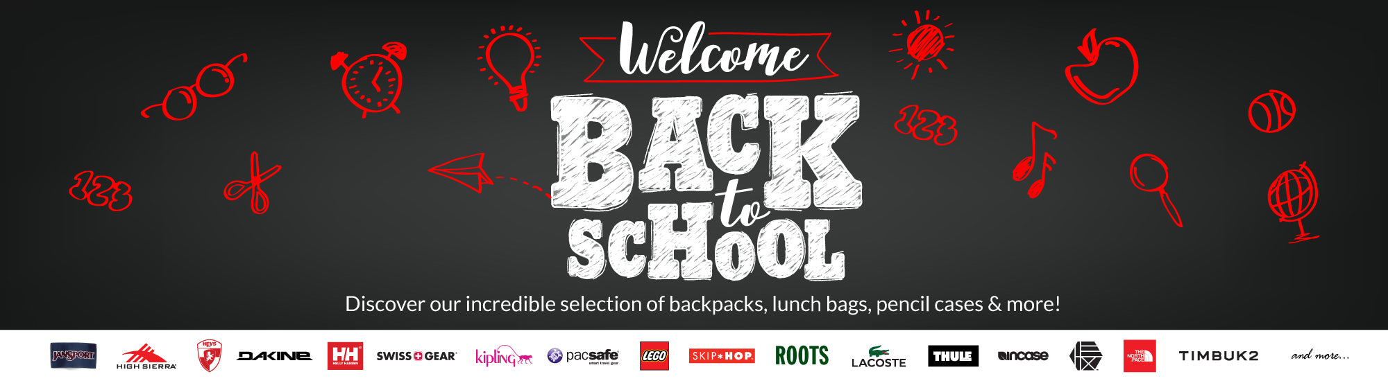 Back to School Backpack Sale - Canada Luggage Depot